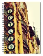 Prague - Hotel Spiral Notebook