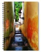 Prague - Street Spiral Notebook