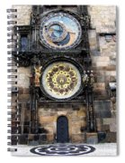 Prague Astronomical Clock Spiral Notebook