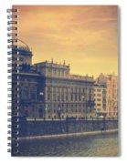Prague Days Spiral Notebook