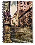 Prague Hradczany Spiral Notebook