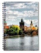 Prague Panorame Spiral Notebook