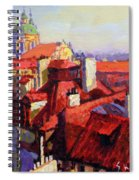 Prague Old Roofs 04 Spiral Notebook