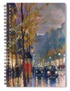 Prague Old Vaclavske Square 01 Spiral Notebook