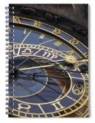 Prague Orloj Spiral Notebook