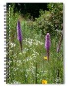 Prairie Blossoms Spiral Notebook