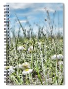 Prairie Flowers And Grasses Spiral Notebook