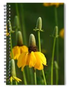Prairie Flowers Spiral Notebook