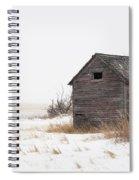 Prairie Silence... Spiral Notebook