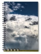 Prairie Storm Clouds Spiral Notebook