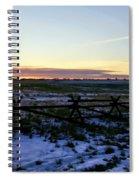 Prairie Sunrise Spiral Notebook
