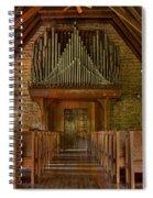 Praise Him In Song Spiral Notebook