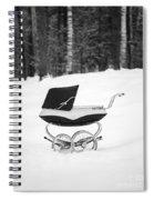 Pram In The Snow Spiral Notebook