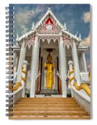 Pranburi Temple Spiral Notebook