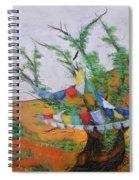 Prayer Flags Spiral Notebook