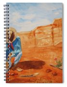 Prayer For Earth Mother Spiral Notebook