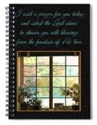 Prayer For You Card Spiral Notebook