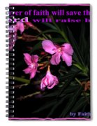 Prayer Of Faith Spiral Notebook