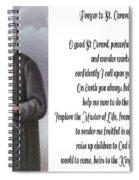 Prayer To St. Gerard For Motherhood Spiral Notebook
