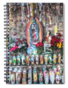 Prayers To Our Lady Of Guadalupe Spiral Notebook