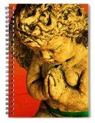Praying Angel Spiral Notebook