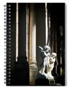Praying Angle - Sucre Cemetery Dramatic Spiral Notebook