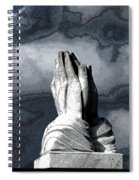Praying Hands Spiral Notebook