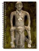 Pre-colombian Art Spiral Notebook