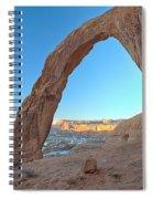Pre Sunrise At Corona Spiral Notebook