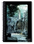 Preah Khan Temple 01 Spiral Notebook