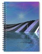 Precious Water Alien Landscape Spiral Notebook