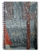 Precipitous Afternoon Spiral Notebook