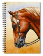 Precision - Horse Painting Spiral Notebook