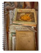 Preferred Reading Material Spiral Notebook