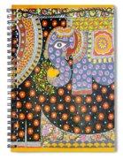 Pregnant Elephant Spiral Notebook