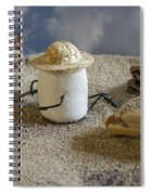 Prehistoric Polysaccharide Spiral Notebook