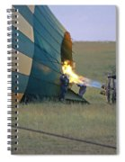 Preparing For Lift Off Spiral Notebook