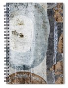 Silken Circles 2 Spiral Notebook