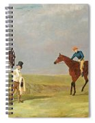 Preparing To Start For The Doncaster Gold Cup 1825 Spiral Notebook