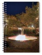 Prescott Park Fountain Spiral Notebook