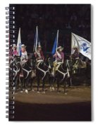 Presenting The Colors On Horseback Spiral Notebook