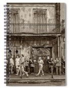 Preservation Hall Sepia Spiral Notebook