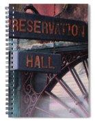Preservation Hall Sign Spiral Notebook