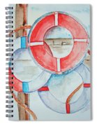 Preserver Rings On Guard Spiral Notebook