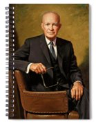 President Dwight D. Eisenhower By J. Anthony Wills Spiral Notebook