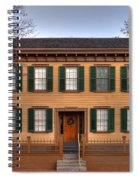 President Lincoln Home Springfield Illinois Spiral Notebook