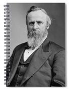 President Rutherford Hayes Spiral Notebook