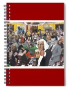 Presidents Day Spiral Notebook
