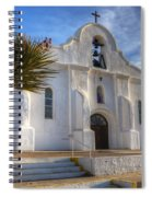 Presidio Chapel San Elizario Texas Spiral Notebook