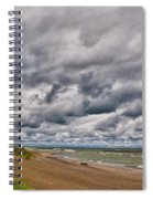 Presque Isle Beach 12061 Spiral Notebook